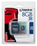 KINGSTON MicroSD HCCard 8GB Class 4  6,00