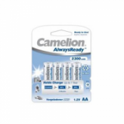 Camelion AA/HR6, 2300 mAh, AlwaysReady Rechargeable Batteries Ni-MH, 4 pc(s)  12,00