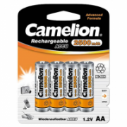 Camelion AA/HR6, 2500 mAh, Rechargeable Batteries Ni-MH, 4 pc(s)  12,00