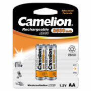Camelion AA/HR6, 2500 mAh, Rechargeable Batteries Ni-MH, 2 pc(s)  8,00