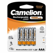 Camelion AAA/HR03, 1100 mAh, Rechargeable Batteries Ni-MH, 4 pc(s)  8,00