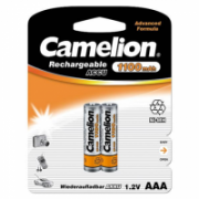 Camelion AAA/HR03, 1100 mAh, Rechargeable Batteries Ni-MH, 2 pc(s)  6,00