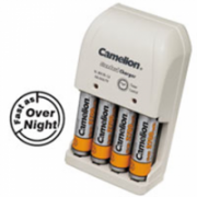 Camelion Plug-In Battery Charger BC-0904S 2x or 4xNi-MH AA/AAA or 1-2x 9V Ni-MH  11,00