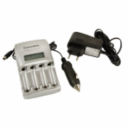 Camelion Ultra Fast Battery Charger BC-0907 1-4 AA/AAA Ni-MH Batteries, Pulse Charging Technology  27,00