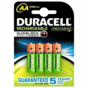 Duracell AA/HR6, 2500 mAh, Rechargeable Accu Stay Charged Ni-MH, 4 pc(s)  13,00