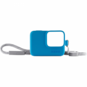 GoPro Lanyard Blue sleeve Adjustable lanyard keeps your GoPro handy—wear it or attach it to your gear; Premium silicone sleeve fits snugly without adding extra bulk; Thin, flexible material makes it easy to insert and remove your GoPro  21,00