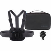 GoPro Sports Kit AKTAC-001 Quantity Chesty (Performance Chest Mount), Handlebar / Seatpost / Pole Mount, Large and small Rubber Insert, Vertical Mounting Buckle, Thumb Screw  66,00