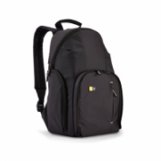 Case Logic DSLR Compact Backpack Black, Unique fold-out camera storage with dual zippers and protective flap allows for quick access to camera gear;Fits compact DSLR camera plus 2 accessories;Dedicated, padded iPad compartment along the back panel feature  37,00