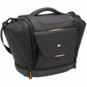 Case Logic Large SLRC Camera Case Interior dimensions (W x D x H) 139.7 x 228.6 x 180. mm, Black, * Professional aesthetic with a touch of outdoor look;* Large shoulder bag to securely hold 1 SLR camera & 4 lenses;* Front & side pockets to store e  55,00