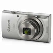 """Canon IXUS 185 Compact camera, 20 MP, Optical zoom 8 x, Digital zoom 4 x, Image stabilizer, ISO 800, Display diagonal 2.7 """", Focus TTL, Video recording, Lithium-Ion (Li-Ion), Silver  112,00"""