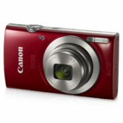"""Canon IXUS 185 Compact camera, 20 MP, Optical zoom 8 x, Digital zoom 4 x, Image stabilizer, ISO 800, Display diagonal 2.7 """", Focus TTL, Video recording, Lithium-Ion (Li-Ion), Red  116,00"""