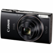 "Canon IXUS 285 HS Compact camera, 20.2 MP, Optical zoom 12 x, Digital zoom 4 x, Image stabilizer, ISO 3200, Display diagonal 7.62 "", Wi-Fi, Focus TTL, Video recording, Lithium-Ion (Li-Ion), Black  196,00"