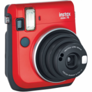 Fujifilm Instax Mini 70 camera + Instax mini glossy (10) Red, 0.3m - ∞  112,00