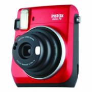 Fujifilm instax mini 70  Instant camera, ISO 800, Focus Macro Mode (0.3 m - 0.6 m) Normal Mode (0.6 m - 3 m) Landscape Mode (3 m and beyond), Lithium, Red  108,00