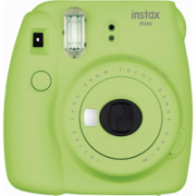 Fujifilm Instax Mini 9 camera + Instax mini glossy (10) Lime Green, 0.6m - ∞  82,00
