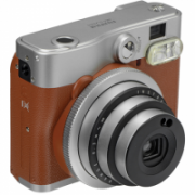 Fujifilm instax mini 90 NEO CLASSIC Instant camera + 10 pcs. of glossy, ISO 800, Focus 0.3m - ∞, Lithium-Ion (Li-Ion), Brown/Stainless steel  132,00
