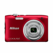 Nikon COOLPIX A100 Compact camera, 20.1 MP, Optical zoom 5 x, Digital zoom 4 x, Image stabilizer, ISO 1600, Display diagonal 6.86 cm, Video recording, Lithium-Ion (Li-Ion), Red  109,00