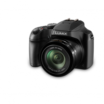 "Panasonic Lumix DC-FZ82EP-K Compact camera, 18.1 MP, Optical zoom 60 x, Digital zoom 4 x, Image stabilizer, ISO 6400, Touchscreen, Display diagonal 3.0 "", Wi-Fi, Focus 0.01m - ∞, Video recording, Lithium-Ion (Li-Ion), Black"