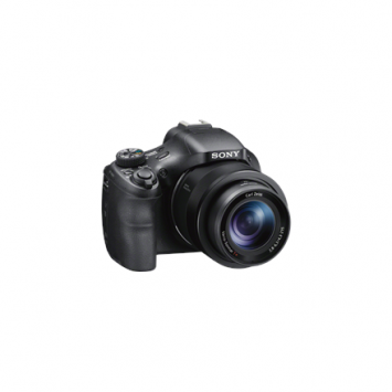 Sony Cyber-shot DSC-HX400V Bridge camera, 20.1 MP, Optical zoom 50 x, Digital zoom 126 x, Image stabilizer, ISO 12800, Display diagonal 7.62 cm, Wi-Fi, Video recording, Black