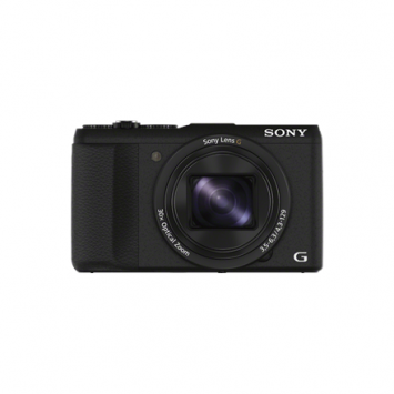 Sony Cyber-shot DSC-HX60 Compact camera, 20.4 MP, Optical zoom 30 x, Digital zoom 60 x, Image stabilizer, ISO 12800, Display diagonal 7.62 cm, Wi-Fi, Video recording, Black