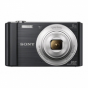 Sony Cyber-shot DSC-W810 Compact camera, 20.1 MP, Optical zoom 6 x, Digital zoom 48 x, Image stabilizer, ISO 800, Display diagonal 6.86 cm, Video recording, Lithium, Black  106,00