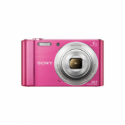 Sony Cyber-shot DSC-W810 Compact camera, 20.1 MP, Optical zoom 6 x, Digital zoom 48 x, Image stabilizer, ISO 800, Display diagonal 6.86 cm, Video recording, Lithium-Ion (Li-Ion), Pink  109,00