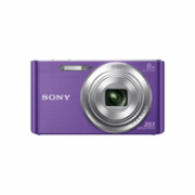 Sony Cyber-shot DSC-W830 Compact camera, 20.1 MP, Optical zoom 8 x, Digital zoom 32 x, ISO 3200, Display diagonal 6.86 cm, Video recording, Lithium, Purple  126,00
