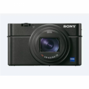 Sony Cyber-shot DSCRX100M6.CE3 Compact camera, 20.1 MP, Optical zoom 8 x, Digital zoom 121 x, ISO 25600, Display diagonal 7.5 cm, Wi-Fi, Focus 0.08m - 8, Video recording, Black  1011,00