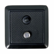 """Vanguard QS-36 quick shoe with 1/4"""" camera screw and pin  20,00"""