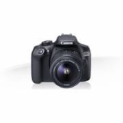 "Canon EOS 1300D (W) + 18−55 IS BAL SLR Camera Body, Megapixel 18 MP, ISO 6400, Display diagonal 3 "", Wi-Fi, TTL, CMOS, Black  481,00"