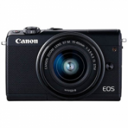 "Canon EOS M100 BK M15-45 S + IRISTA EU18 Mirrorless Camera Kit, 24.2 MP, ISO 25600, Display diagonal 3.0 "", Video recording, Wi-Fi, CMOS, Black  512,00"