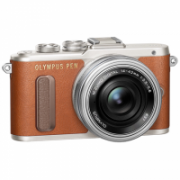 "Olympus PEN E-PL8 + 14-42mm EZ Pancake Mirrorless Camera Kit, 16.1 MP, ISO 25600, Display diagonal 7.62 "", Video recording, Wi-Fi, TTL, Magnification 14 x, Live MOS, Brown/Silver, Image sensor size (W x H) 17.3 x 13 ""  452,00"