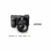 Sony α6500 + SEL1670Z Kit System, 24.2 MP, Image stabilizer, ISO 51200, Display diagonal 7.49 cm, Video recording, Wi-Fi, TTL, Magnification 1.07 x, Viewfinder, CMOS, Black, Image sensor size (W x H) 23.5 x 15.6 mm  2387,00