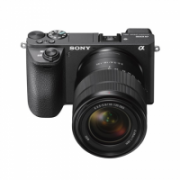 """Sony ILCE-6500MB Body + 18-135mm Zoom Lens Mirrorless Camera Kit, 24.2 MP, ISO 51200, Display diagonal 3.0 """", Video recording, Wi-Fi, Fast Hybrid AF, Exmor CMOS, Black  1774,00"""