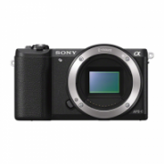 "Sony ILCE5100B.CEC Mirrorless Camera body, 24.3 MP, ISO 25600, Display diagonal 3.0 "", Video recording, Wi-Fi, Black, Image stabilization supported on lens  355,00"