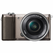"Sony ILCE5100LT.CEC Body + 16-50mm lens Mirrorless Camera Kit, 24.3 MP, ISO 25600, Display diagonal 3.0 "", Video recording, Wi-Fi, Fast Hybrid AF, Exmor R CMOS sensor, Brown  519,00"