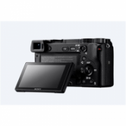 """Sony ILCE6300B.CEC Mirrorless Camera Kit, 24.2 MP, ISO 51200, Display diagonal 3.0 """", Video recording, Wi-Fi, Magnification 1.07 x, CMOS, Black, Image stabilization supplied by lens  1227,00"""