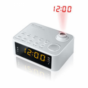 Muse Clock radio  M-178PW White, 0.9 inch amber LED, with dimmer  16,00