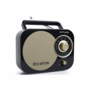 Muse Portable radio M-055RB Black/Gold, AUX in  22,00