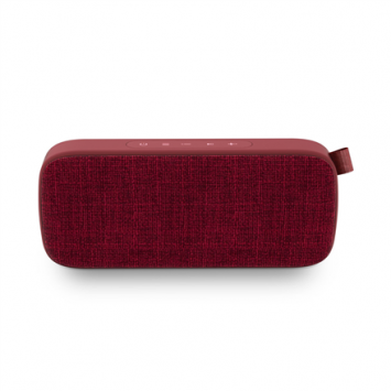 Energy Sistem Fabric Box 3+ 6 W, Portable, Wireless connection, Trend Cherry, Bluetooth