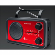Muse Portable radio M-05RED Red, AUX in  24,00
