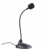 Gembird Desktop microphone MIC-205 Black, 3.5 mm  6,00