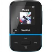Sandisk CLIP SPORT GO MP3 Player 32GB, Blue  50,00