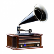 Camry Turntable with tube with CD/MP3/USB/recording CR 1160 Wooden Brown, 5 W  146,00
