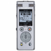 Olympus Digital Voice Recorder DM-720 Stereo/Tresmic, PCM/MP3, 18mm round dynamic speaker/ 150mW, Rechargeable, Microphone connection, MP3 playback, Silver,  137,00