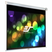 "Elite Screens Manual Series M113NWS1 Diagonal 113 "", 1:1, Viewable screen width (W) 203 cm, White  86,00"
