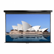 "Elite Screens Manual Series M92UWH Diagonal 92 "", 16:9, Viewable screen width (W) 204 cm, Black  82,00"