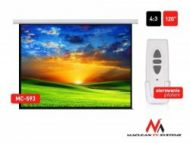 Maclean MC-593 Economy Budget Electric Projection Screen-120''  4:3  107,00