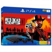 Sony Playstation 4 Slim 1TB + Red Dead Redemption 2 + 2nd controller  442,00