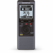 "Olympus VN-731PC Digital Voice Recorder (black), 4GB internal memo (SP/HQ/LP: 511h/259h/1626h), 1.61"" display, WMA/MP3, microSD(HC) Slot, 2 x AAA Batt., Built-in stand  178,00"